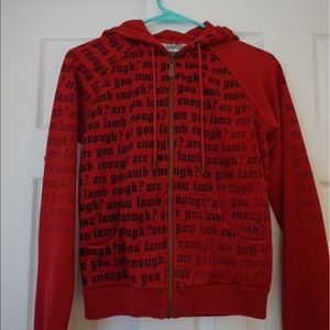Are you L.A.M.B. Enough hoody size M